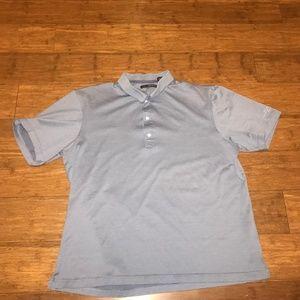 GREG NORMAN XL Gray Polo Shirt
